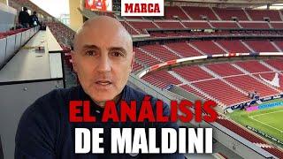 El genial análisis de Maldini del Atlético-Osasuna: