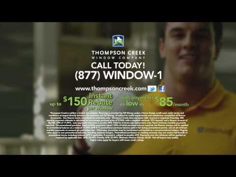 Ryan Kerrigan & Thompson Creek Window Company Help You Save on Replacement Windows