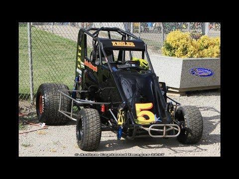 #5K Micro Sprint car Anthony Kesler Delta Speedway 06-17-2017