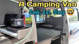 Camping Van - Modified Maruti EECO | Mini Car Camper RV Concept | Caravan Modification in India 2020
