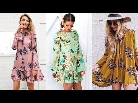 classy-top-50-o-neck-light-weight-chiffon-tunic-top-&-short-dress-designs