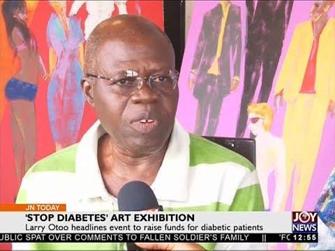 'Stop Diabetes' Art Exhibition - Joy Entertainment Today (19-10-17)