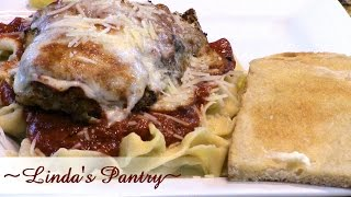 ~chicken Parmesan With Linda's Pantry~