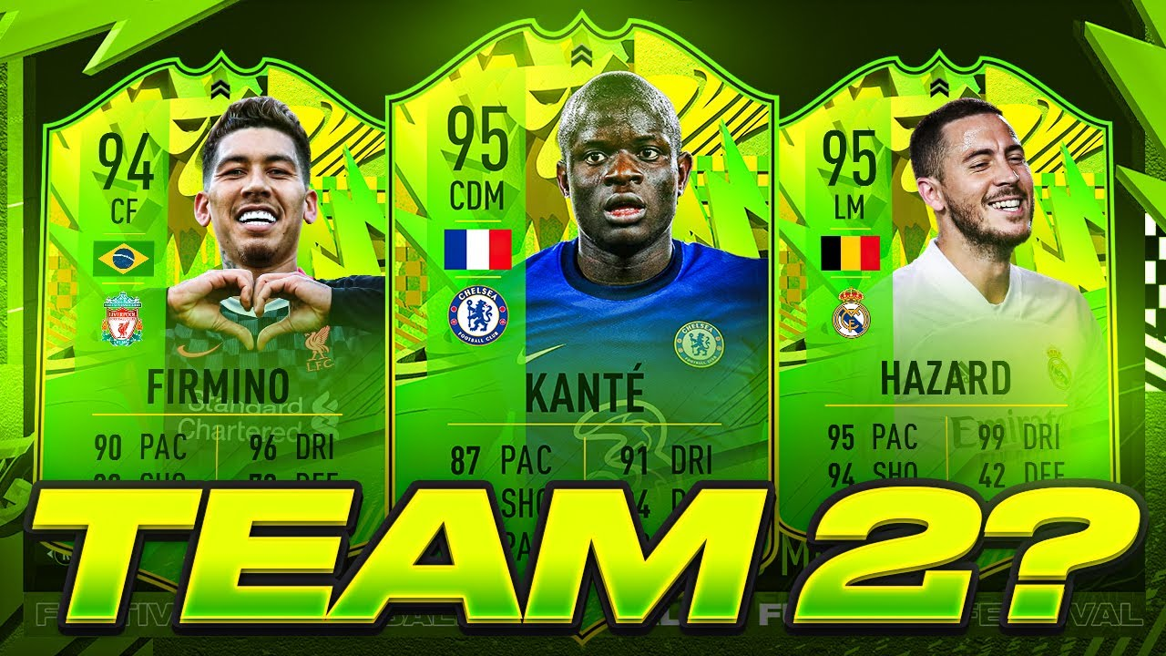 IS THERE A FESTIVAL OF FUTBALL TEAM 2?! FIFA 21