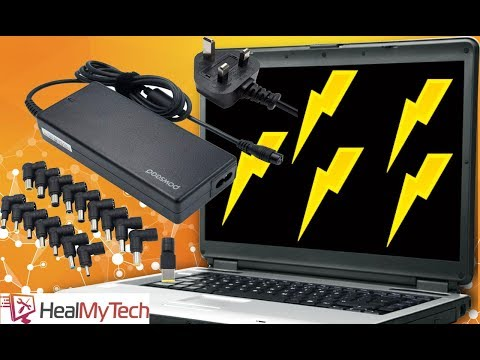 Are Universal Laptop Chargers Any Good?  POWSEED Universal 90W Unboxing Test & Quick Review
