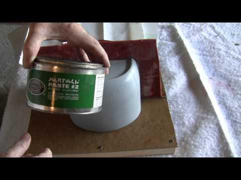 Making a fiberglass mold