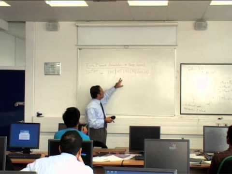Finite Element Method Lesson, Prof Hamid Bahai, Session 4