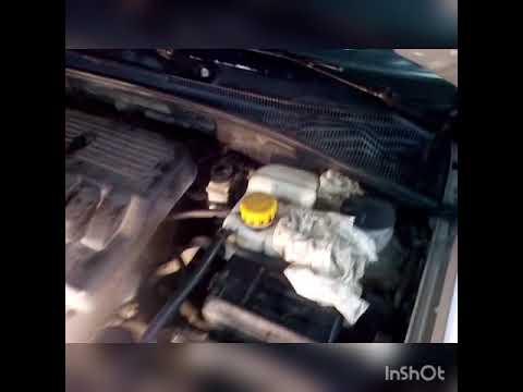 Замена патрубков радиатора печки на Chevrolet Lacetti (Шевроле Лачетти )