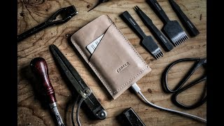 Leather Crafting - Making an iPhone Wallet