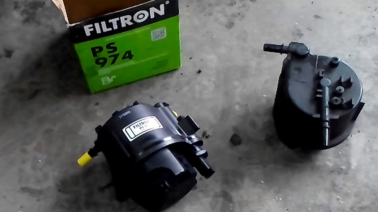 FORD FUSION 1.4TDCI HOW TO CHANGE FUEL FILTER - YouTubeYouTube