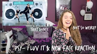 PSY- I Luv It & New Face Reaction