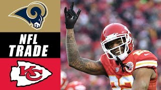 Chiefs Trade Marcus Peters to the LA Rams