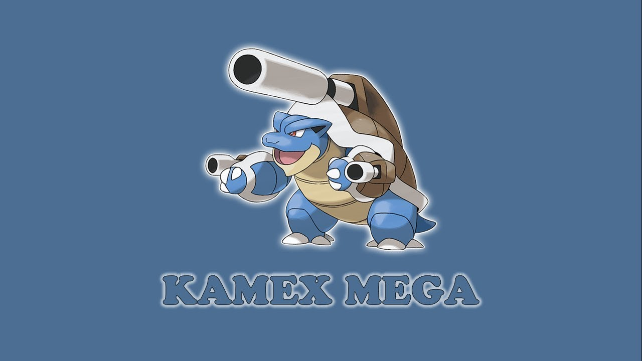 Pokemon Kamex Mega: Pokemon Vỏ Giáp - YouTube