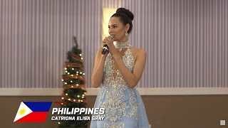 PHILIPPINES, Catriona Gray - Top 10 Talent: Miss World 2016