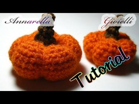 Tutorial amigurumi Zucca halloween uncinetto
