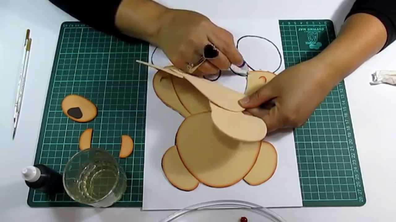 Moldes para trabajo con microproso plantilla para hacer - Trabajos en goma eva ...