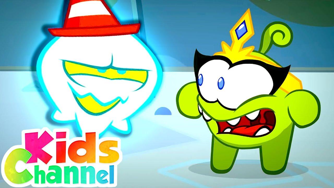 Ghost Terror | Om Nom Hallween Cartoons for Children | Videos from Kids Channel