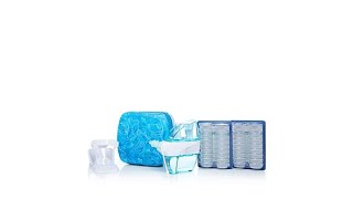 Navage Nasal Care System w/Countertop Caddy, Travel Case...
