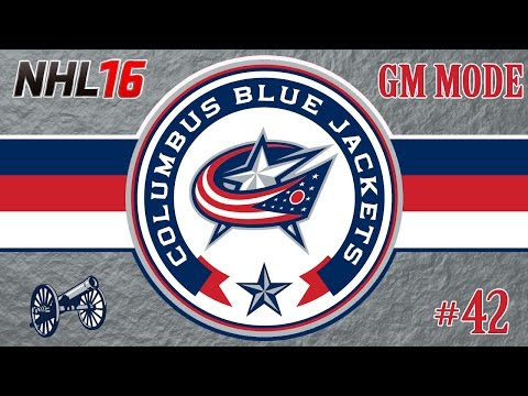 NHL 16: Columbus Blue Jackets GM Mode #42 | 2021 Offseason/Preseason [PS4]