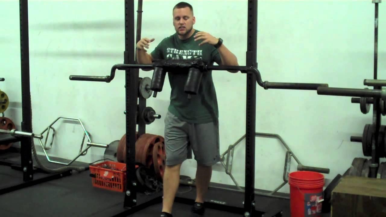 Safety Bar Squats - YouTube
