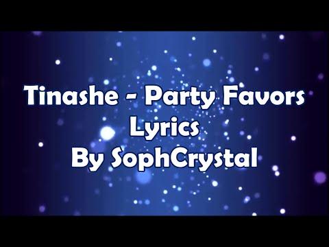 Tinashe ft. Young Thug - Party Favors - Lyrics