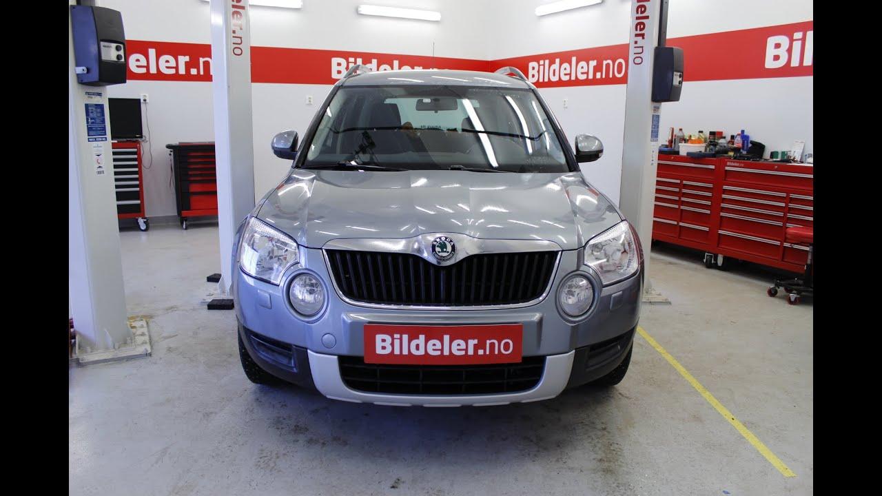 Skoda Yeti Hvordan Bytte Dieselfilter 2009 Til 2015 Mod 5l