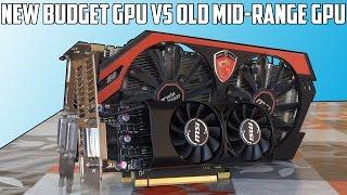 New Budget GPU Vs Old Mid Range GPU | 1050 Vs 760