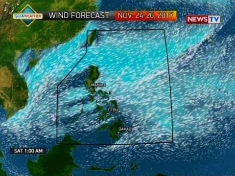 NTG: Weather update as of 11:03 a.m. (November 24, 2017)