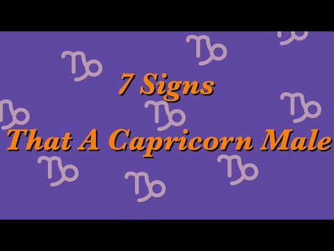 Signs a capricorn man is interested