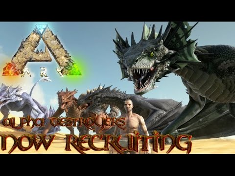 Ark tribe recruiting (Ps4) - YouTube