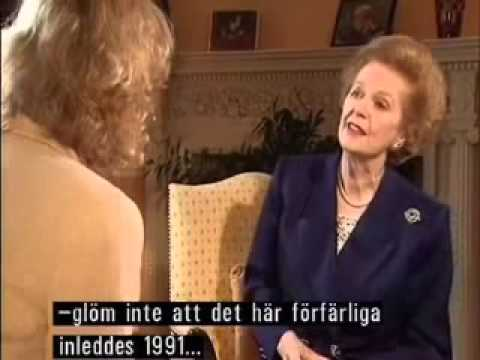 Margaret Thatcher Feisty Interview 1995