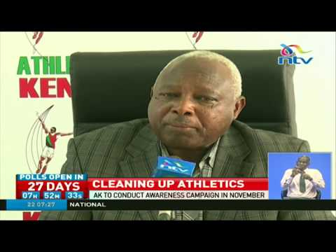 Athletics Kenya to conduct Anti Doping Awareness Campaign in November