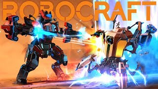 Robocraft Royale - Vehicular Battle Royale Game - Robocraft Royale Gameplay