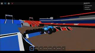 Monster Mutt Dalmatian ICE (Cynthia Gauthier) ROBLOX Monster Jam World Finals XX Freestyle