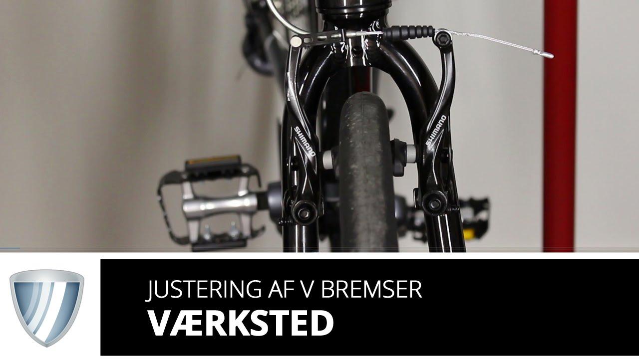 justering af cykelbremser
