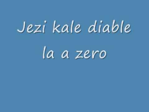 jezi kale diable la a zero by Jean Rene Charles