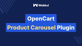 Opencart product carousel