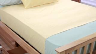 Gere Wooden Bed (oak) - Sweet Dreams