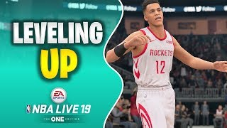 NBA LIVE 19 THE ONE | LEVELING UP THE REAPER ICON WING SHOOTER