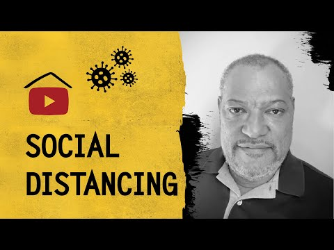 Laurence Fishburne On How To Stop The Spread Of COVID-19 | #Stayhome #withme & Control The Contagion
