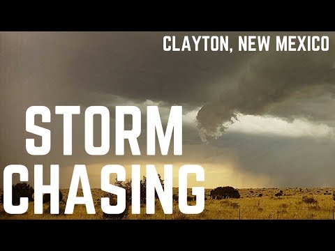 Tornado Formation in New Mexico! - Storm Chasing USA 2017 Day 6