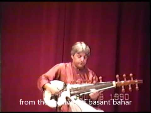 Ustad Amjad Ali Khan Ustad Zakir Hussain Raag Shree part 1 of 2