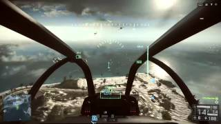 Battlefield 4 - How To Fly Helicopters Gameplay