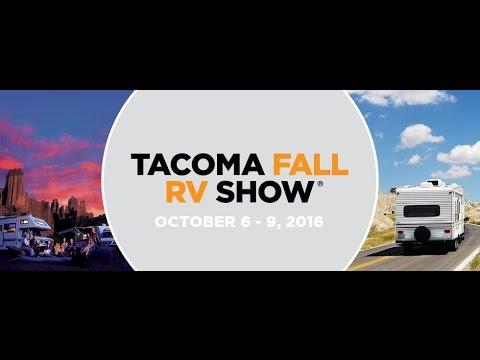 Tacoma Fall 2016 RV Show Highlights