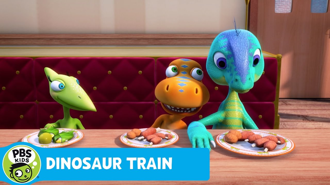 DINOSAUR TRAIN | Buddy and Dennis Become Friends! | PBS ...