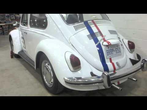 1970 VW Bug Herbie Love Bug At 2014 MegaSpeed Car