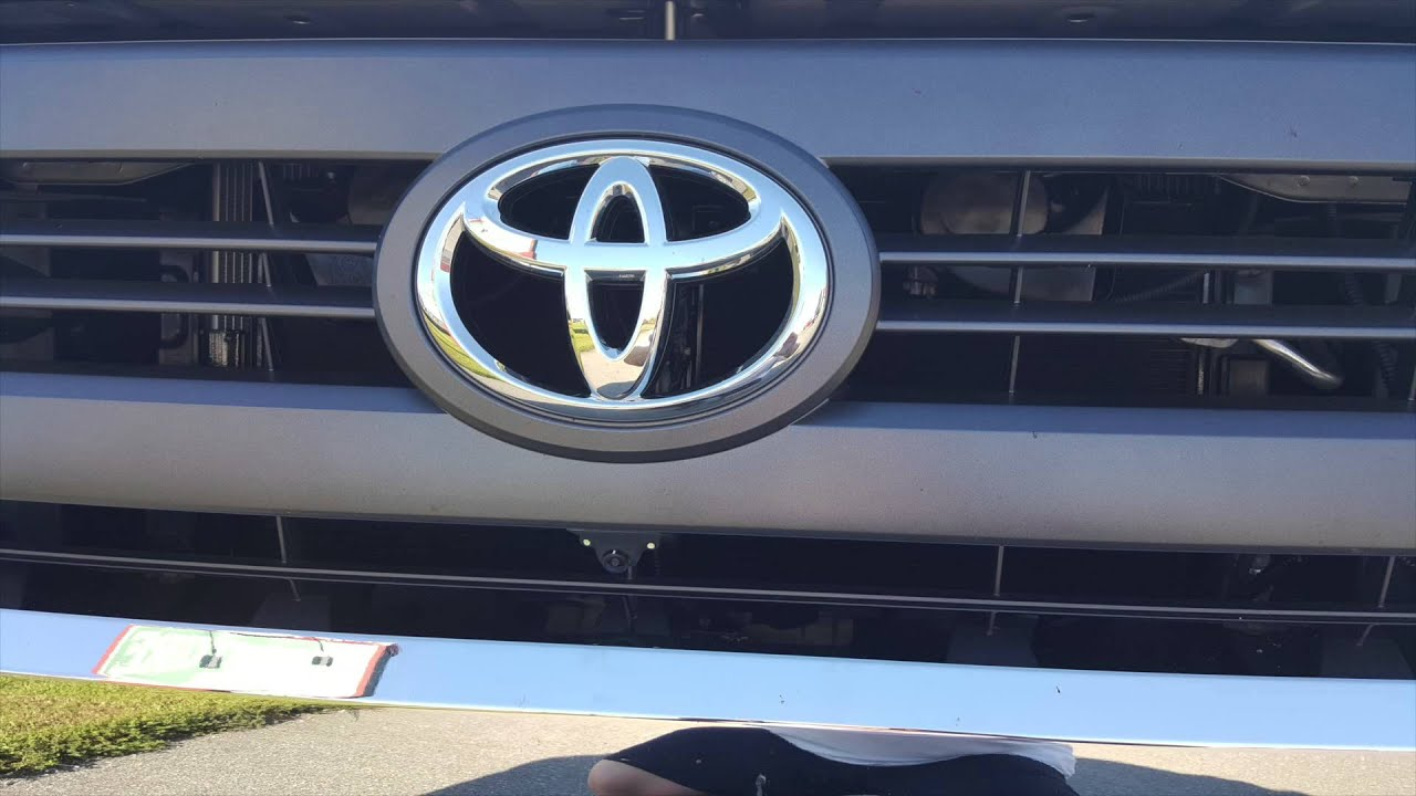 2015 Toyota Tundra Blind Spot Front Parking Cameras Youtube Harness Rostra Wire Bmw 5l4oe