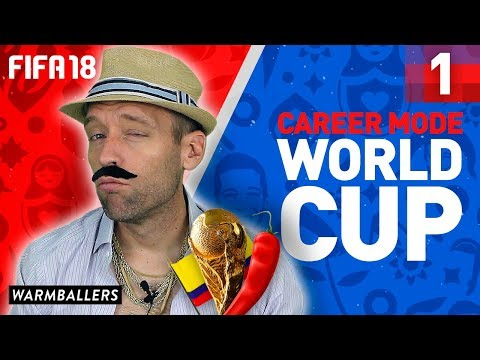 iNHO vs THE WORLD - FIFA 18 Career Mode World Cup Edition (Ep. #1)
