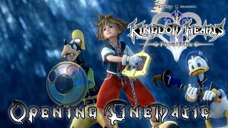 Kingdom Hearts HD 2.5 ReMIX - Final Mix Opening Cinematic @ 1080p HD ✔
