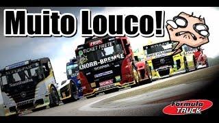 Fórmula Truck Simulator 2013 Muitos Acidentes!!!